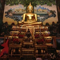 Photo taken at Wat Rai King (Wat Mongkhon Chindaram) by Rutcy P. on 7/12/2013