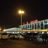 Photo taken at Dalian Zhoushuizi International Airport (DLC) by Naozo on 11/28/2012