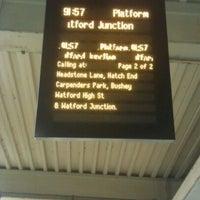 Photo taken at Platform 9 by Derick R. on 12/6/2012