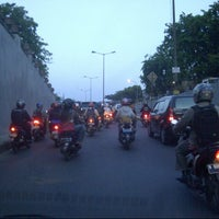 Photo taken at Underpass Pasar Gembrong by Rudolf X. D. on 10/16/2012