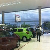 Photo taken at Mitsubishi Motors | Kanchana Equipment by GoLa T. on 9/27/2012
