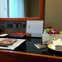 Photo taken at Sheraton Chengdu Lido Hotel | 天府丽都喜来登饭店 by Abraham C. on 9/10/2014