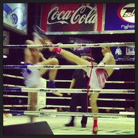 Photo taken at Lumpinee Boxing Stadium by Joshua E. on 4/13/2013