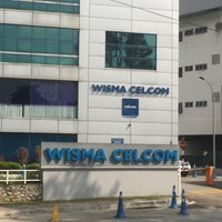 Photo taken at Wisma Celcom (MHS), PJ by Zubair M. on 5/19/2015