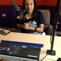 Photo taken at Latina Tu FM 92.3 by Jason I. on 6/28/2013