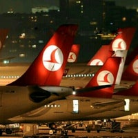 Photo taken at Istanbul Atatürk Airport (IST) by Hacı Cengiz on 11/25/2013