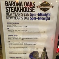 Photo taken at Barona Steakhouse by Delana B. on 1/1/2016