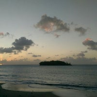 Photo taken at Sandals Halcyon Beach Resort by Brian S. on 3/28/2016