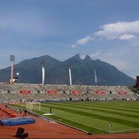 Photo taken at Estadio Tecnológico by Edgar C. on 5/8/2013