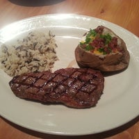 Photo taken at Black Angus Steakhouse by Christopher N. on 7/13/2013