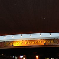 Photo taken at Front Porch Pub by Sarah V. on 10/3/2012