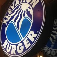 Photo taken at Elevation Burger by Jon B. on 2/1/2013