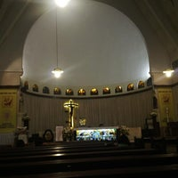 Photo taken at Gereja Santa Theresia by Agus H. on 6/23/2013