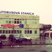 Photo taken at Autobusová stanica Mlynské nivy | Mlynské Nivy Bus Station by Andrej M. on 2/25/2013
