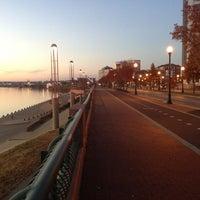 Photo taken at Evansville Riverfront by Jordan V. on 11/18/2012