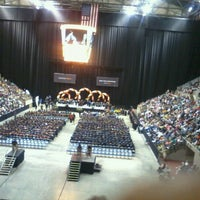 Photo taken at Allen County War Memorial Coliseum | Arena, Expo Center & Conference Center by Chrissy D. on 5/18/2013