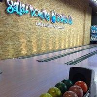 Photo taken at Yalla Bowling Lanes by irene s. on 4/16/2014