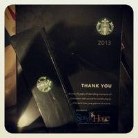 Photo taken at Starbucks Coffee by Edward L. on 12/25/2012