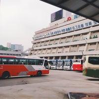 Photo taken at Seoul Express Bus Terminal by nu1t on 6/15/2013