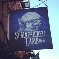 Photo taken at Slaughtered Lamb Pub by Eduardo G. on 10/24/2012