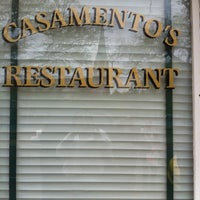 Photo taken at Casamento's by Kim B. on 3/22/2013