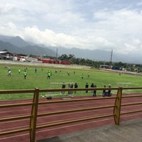 Photo taken at Complejo Deportivo Orizaba (CDO) by Nicole C. on 7/12/2015