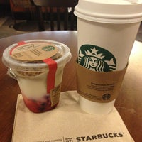 Photo taken at Starbucks by Benjamin on 4/2/2013