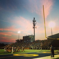 Photo taken at Memorial Field EGR Stadium by Jennifer B. on 9/7/2013