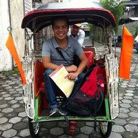 Photo taken at Jalan Taman Siswa by Dan H. on 7/11/2013