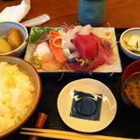 Photo taken at 魚鐵 by タカオ on 10/18/2012