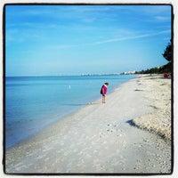 Photo taken at Bonita Beach by Corey C. on 9/15/2012