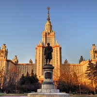 Photo taken at МГУ им. М. В. Ломоносова by Forigner on 6/22/2013