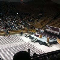 Photo taken at Cassell Coliseum by Tara K. on 12/21/2012