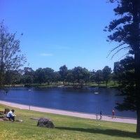 Photo taken at Elder Park by Ty J. on 11/9/2012