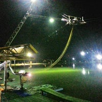 Photo taken at Camsur Watersports Complex (CWC) by Erinn C. on 10/1/2012