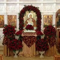 Photo taken at Saydet El Zalzale Church by Tony A. on 4/18/2014