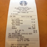 Photo taken at Starbucks by Chao C. on 10/16/2012