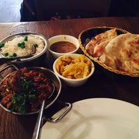 Photo taken at Brick Lane Curry House by Orgrob A. on 3/10/2015