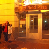 Photo taken at Ella's Wood-Fired Pizza by Hoda Abbas M. on 11/24/2012
