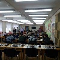 Photo taken at ДЮСШ Олимпийского резерва N4 Шахматы by Pavel B. on 3/23/2014