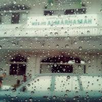 Photo taken at Masjid Al-Marhamah by Friska M. on 11/23/2012