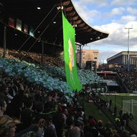 Photo taken at Providence Park by Mark M. on 3/4/2013