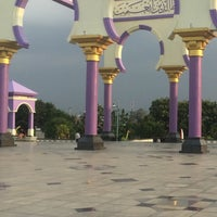 Photo taken at Masjid Agung Jawa Tengah (MAJT) by Adrina N. on 8/28/2016