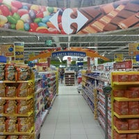 Photo taken at Carrefour by Kazu N. on 7/9/2013