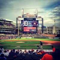 Photo taken at Comerica Park by John C. on 5/14/2013