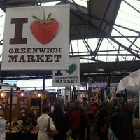 Photo taken at Greenwich Market by Sam T. on 10/5/2012