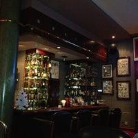Photo taken at Bar Dessiné (Radisson BLU) by Michael O. on 12/12/2012