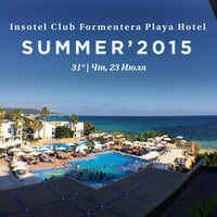 Photo taken at Insotel Club Formentera Playa Hotel by Владислав С. on 7/23/2015