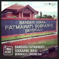 Photo taken at Bandara Fatmawati Soekarno (BKS) by Syamsir A. on 6/13/2013