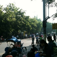Photo taken at Solo Car Free Day by Nadya Karunia S. on 11/18/2012